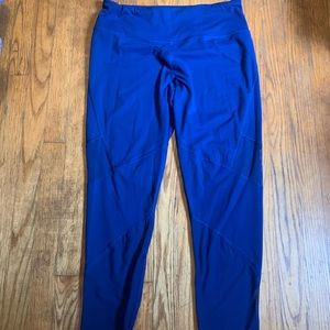 Victoria's Secret Knockout Blue Mesh Leggings